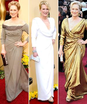 Meryl Streep: What's Her Best Oscars Dress Ever?
