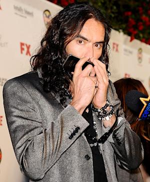 Russell Brand Gets Community Service for iPhone Smashing Incident