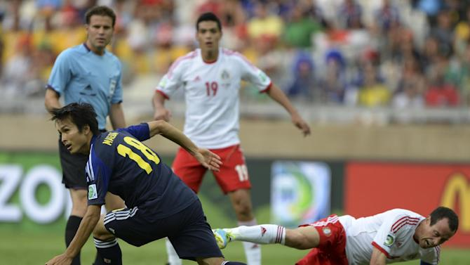 Brazil Soccer Confed Cup Japan Mexico