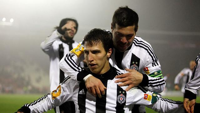 Europa League - League champions Partizan knocked out of Serbian Cup