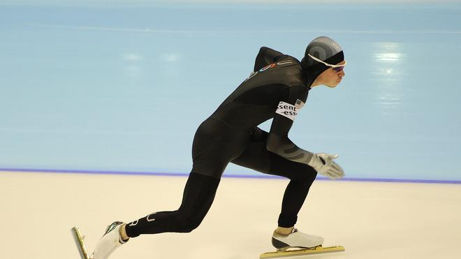 Tucker Fredricks Of The United States Competes Getty Images