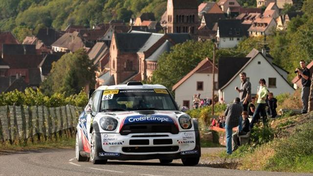 WTCC leader Muller 14th in WRC race
