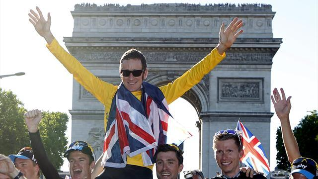 Tour de France - Wiggins clinches Tour as Cav wins in Paris