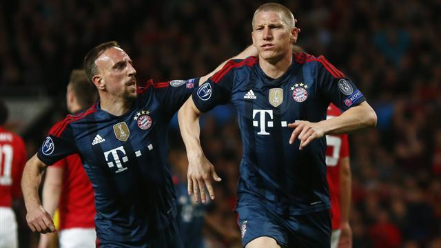 Champions League - Schweinsteiger rescues draw for Bayern against plucky United