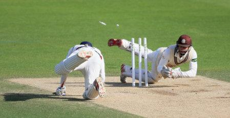 Cricket - LV= County Championship - Division Two - Day 3 - Surrey v Lancashire - Kia Oval
