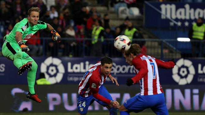 Football Soccer - Atletico Madrid v Eibar - Spanish King's Cup