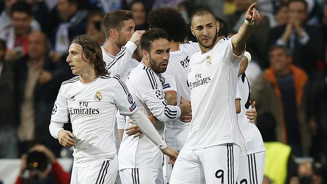Champions League - Benzema strikes as Real Madrid edge Bayern in tense semi