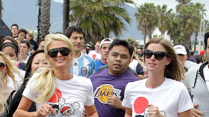 Paris Nicky Hilton Youth For Run