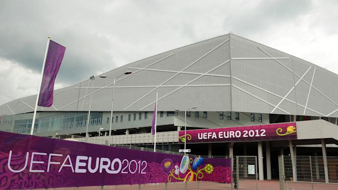 Arena Lviv - one of the stadia UK ministers will not be visiting in the group stages of Euro 2012 after electing to boycott
