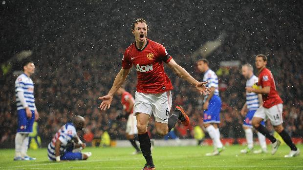 Jonny Evans equalised before Manchester United went on to beat QPR