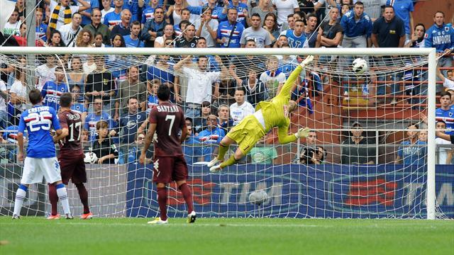 Torino end Sampdoria's perfect start