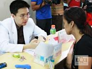 Pharmaceutical firm United Laboratories (Unilab) cites the role of health workers in rural barangays or villagers in conducting medical testing in the provinces.