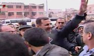 Assad Tours Homs As Syria Peace Deal Agreed