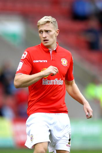 Crewe fear that Ajay Leitch-Smith has sustained ligament damage following a robust challenge