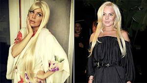 Fergie Is a Lindsay Lohan Lookalike
