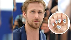 Wear Ryan Gosling on Your Nails
