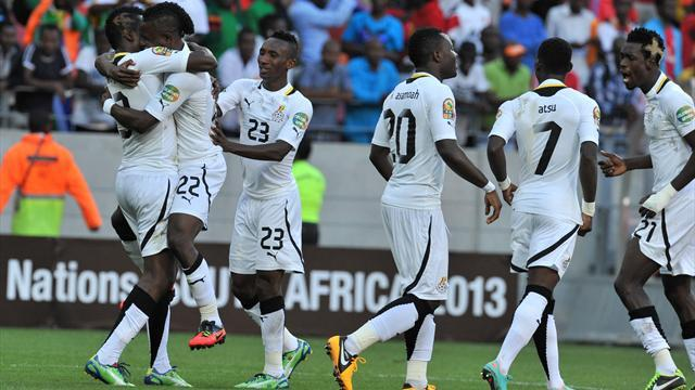 African Cup of Nations - Wakaso puts Ghana in semis as Cape Verde bow out