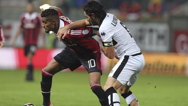 Milan held to draw by Parma