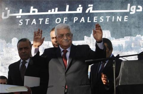 Abbas orders official use of 'Palestine'