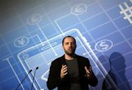 WhatsApp Chief Executive Officer and co-founder Jan Koum delivers a speech at the Mobile World Congress in Barcelona February 24, 2014. REUTERS/Albert Gea/Files