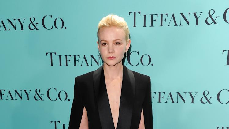 Actress Carey Mulligan attends the Tiffany & Co. Blue Book Ball at Rockefeller Center on Thursday April 18, 2013 in New York. (Photo by Evan Agostini/Invision/AP)