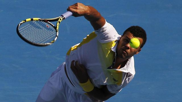 Australian Open - Tsonga blasts past Gasquet into last eight