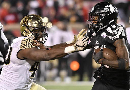 Wake Forest is investigating a possible game-plan breach the Friday before the 44-10 loss to Louisville. (AP)
