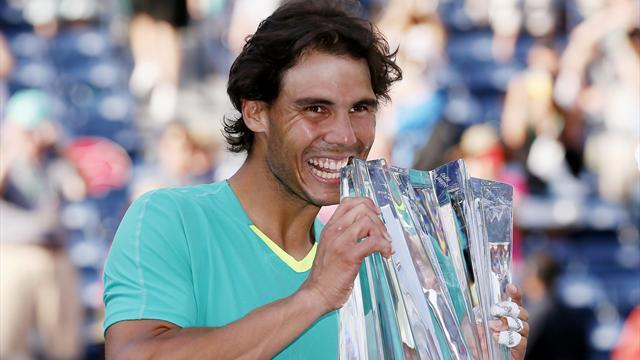 Tennis - Nadal wins record-breaking 22nd Masters title at Indian Wells