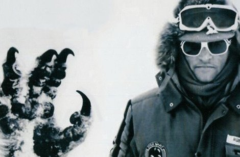 Robert Watts on the Hoth set of Empire Strikes Back