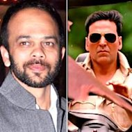 Rohit Shetty Directs Akshay Kumar's Stunts In 'Khiladi 786'