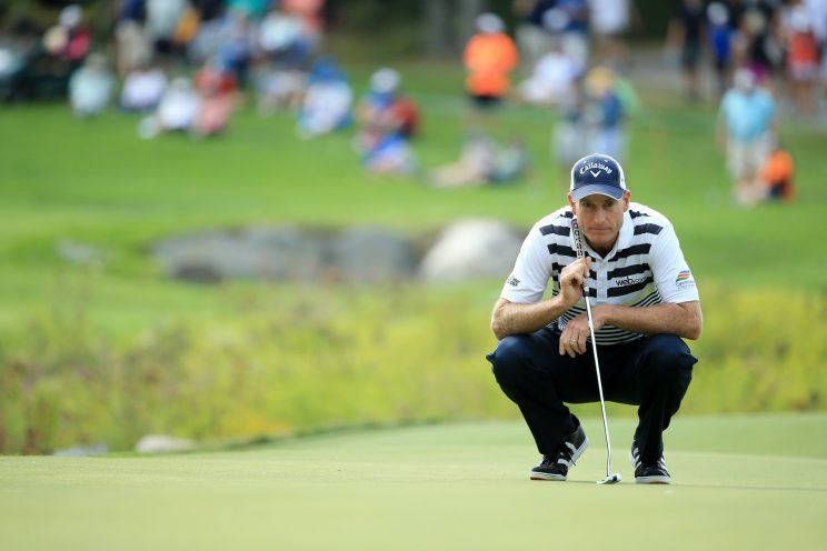 Jim Furyk is out of the FedEx Cup playoffs. (Getty Images)