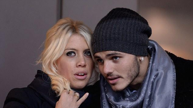 Cryptic tweet from Icardi's wife raises questions over Inter future
