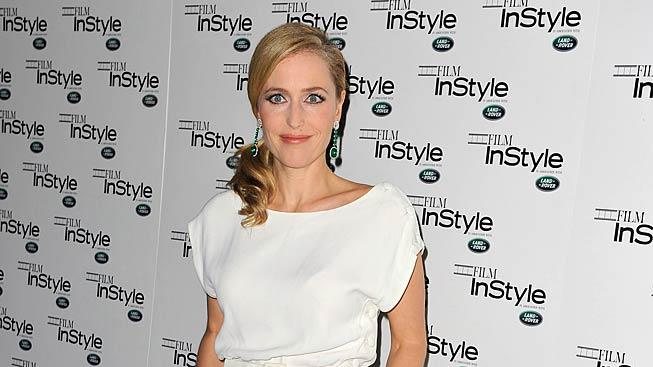 Gillian Anderson Instyle Anniversary Party