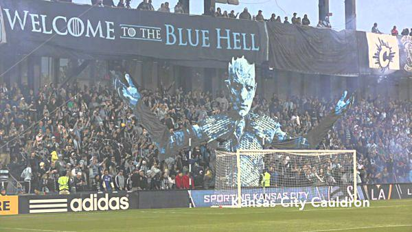 Sporting KC fans taunt LA Galaxy with 'Game of Thrones' image