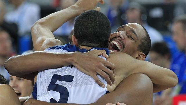 Basketball - France beat Lithuania to win Eurobasket
