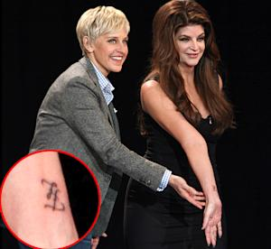 PIC: Kirstie Alley Gets Tattoo for 61st Birthday!