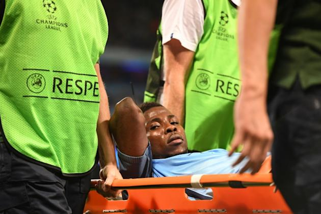 Kelechi Iheanacho will be absent for Manchester City having suffered a minor hamstring problem in the midweek win over Steaua Bucharest that will sideline him for two weeks