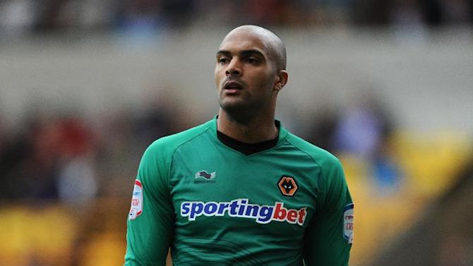 Carl Ikeme had to be withdrawn in the second half of Wolves' defeat to Millwall