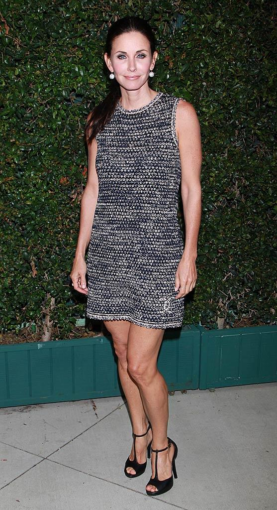 Courteney Cox Chanel Benefit