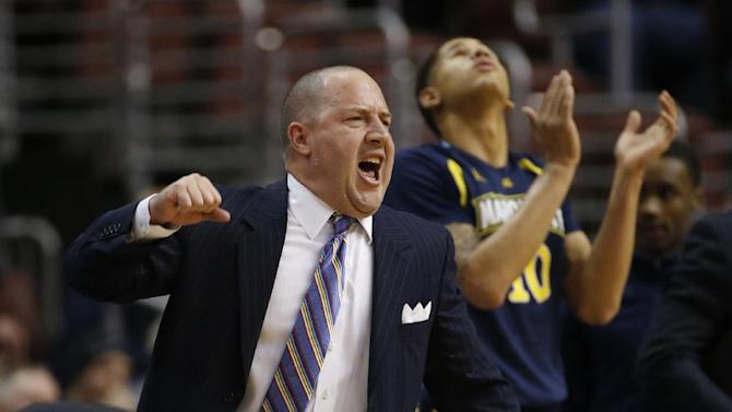 Williams leaves Marquette to coach Virginia Tech