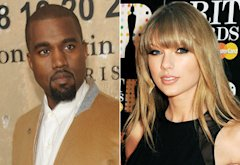 Kayne West,Taylor Swift | Photo Credits: Rabbani and Solimene Photography/WireImage, Dave M. Benett/Getty Images