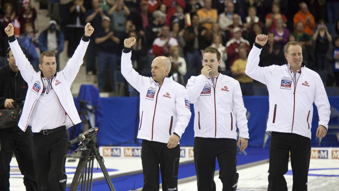 CURLING-WORLD-SCOTLAND-CANADA