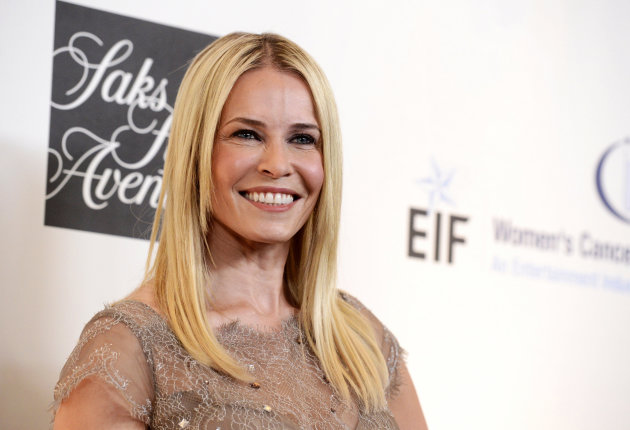 Harry's new BFF - Chelsea Handler. Copyright: [AP]