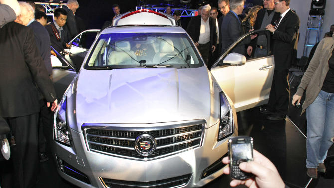 Mercedes Benz And Cadillac Hold Events Ahead of North American Int'l Auto Show