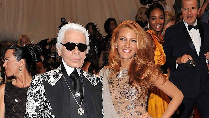 Lagerfeld Lively TheMET Gala