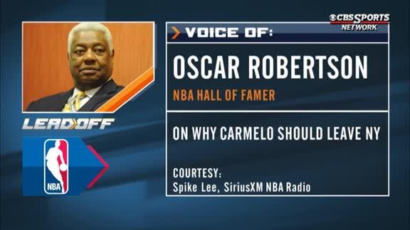 Oscar Robertson on Carmelo