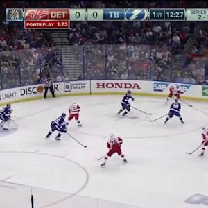 Detroit Red Wings at Tampa Bay Lightning - 04/25/2015