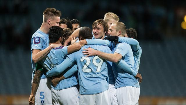 World Football - Malmo go top in Sweden as Haecken, AIK slip up