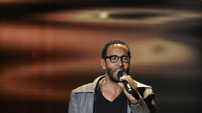 "LeRoy Bell performs ""Angel"" by Sarah McLachlan on ""The X Factor."""