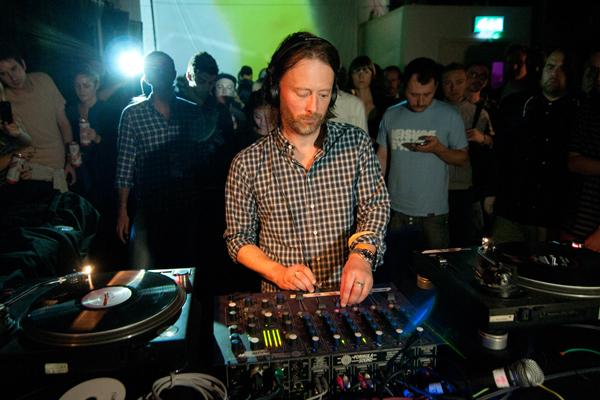 Thom Yorke of Atoms for Peace, Photo by Caitlin Mogridge/Redferns